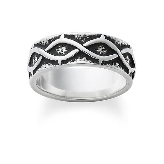 view larger image of crown of thorns band - James Avery Wedding Rings