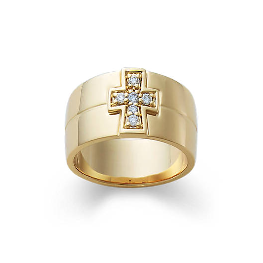 View Larger Image of Diamond Cross Band